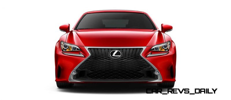 2015 Lexus RC350 Colors Visualizer + F Sport vs Standard 32