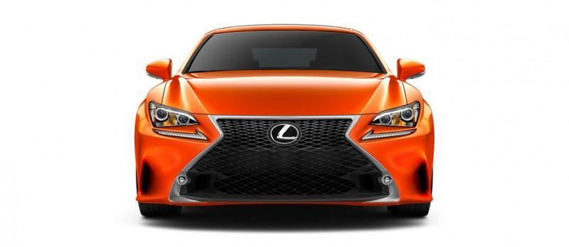 2015 Lexus RC350 Colors Visualizer + F Sport vs Standard 33