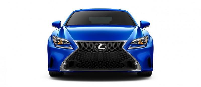 2015 Lexus RC350 Colors Visualizer + F Sport vs Standard 34
