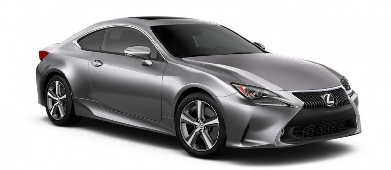 2015 Lexus RC350 Colors Visualizer + F Sport vs Standard 36
