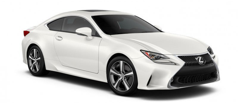 2015 Lexus RC350 Colors Visualizer + F Sport vs Standard 38