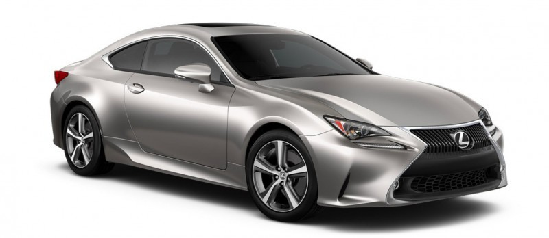 2015 Lexus RC350 Colors Visualizer + F Sport vs Standard 40