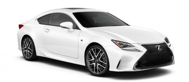 2015 Lexus RC350 Colors Visualizer + F Sport vs Standard 44