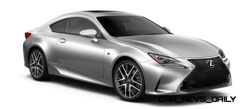 2015 Lexus RC350 Colors Visualizer + F Sport vs Standard 46