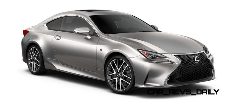 2015 Lexus RC350 Colors Visualizer + F Sport vs Standard 47
