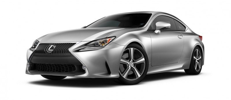2015 Lexus RC350 Colors Visualizer + F Sport vs Standard 5