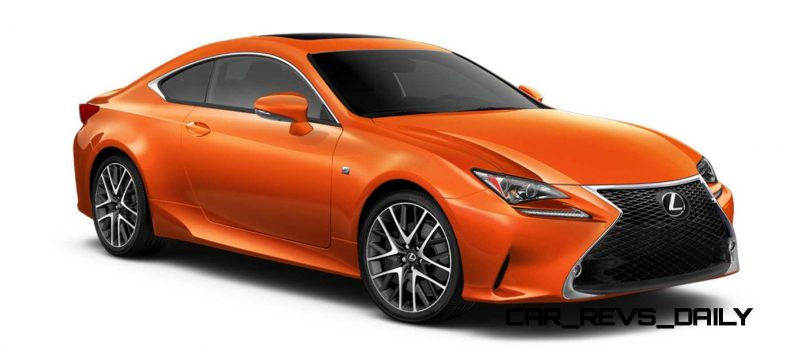 2015 Lexus RC350 Colors Visualizer + F Sport vs Standard 50