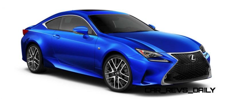 2015 Lexus RC350 Colors Visualizer + F Sport vs Standard 51