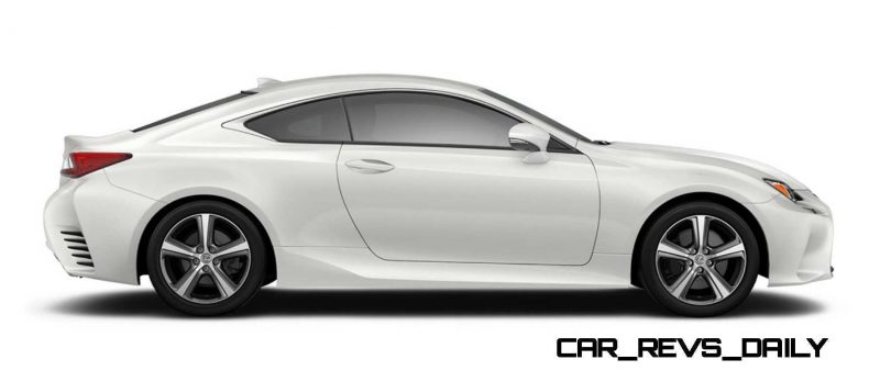2015 Lexus RC350 Colors Visualizer + F Sport vs Standard 52
