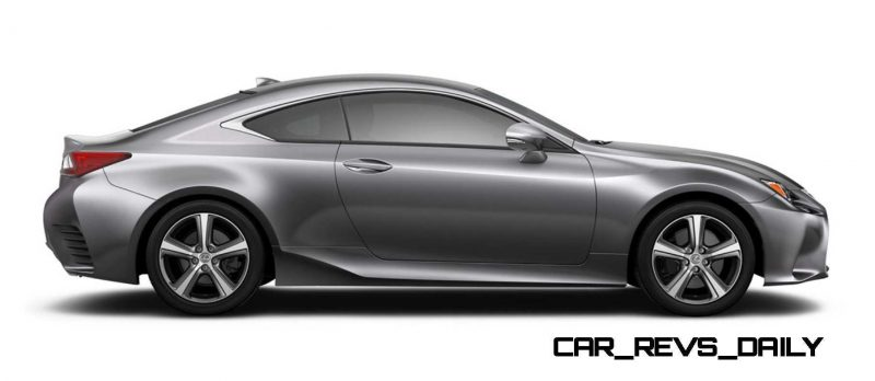 2015 Lexus RC350 Colors Visualizer + F Sport vs Standard 53
