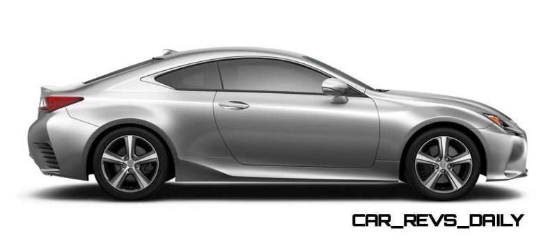 2015 Lexus RC350 Colors Visualizer + F Sport vs Standard 58