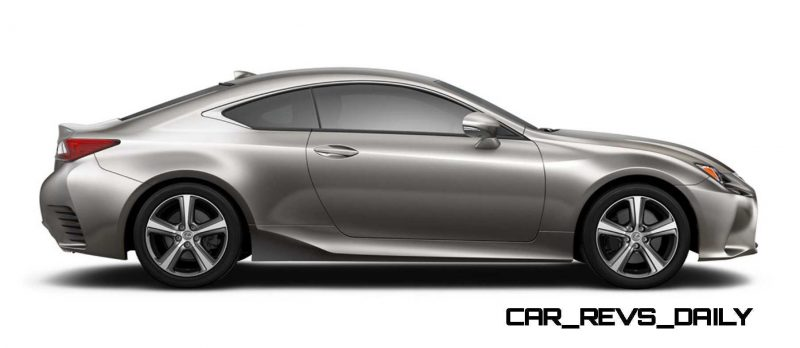2015 Lexus RC350 Colors Visualizer + F Sport vs Standard 59