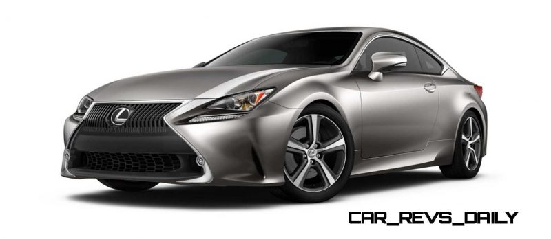 2015 Lexus RC350 Colors Visualizer + F Sport vs Standard 6