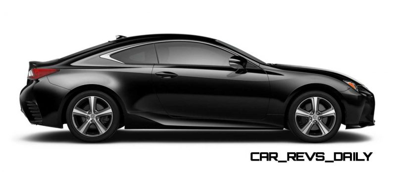 2015 Lexus RC350 Colors Visualizer + F Sport vs Standard 60