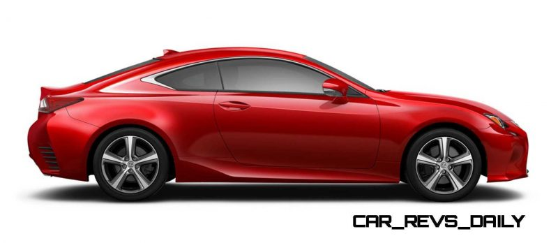 2015 Lexus RC350 Colors Visualizer + F Sport vs Standard 61