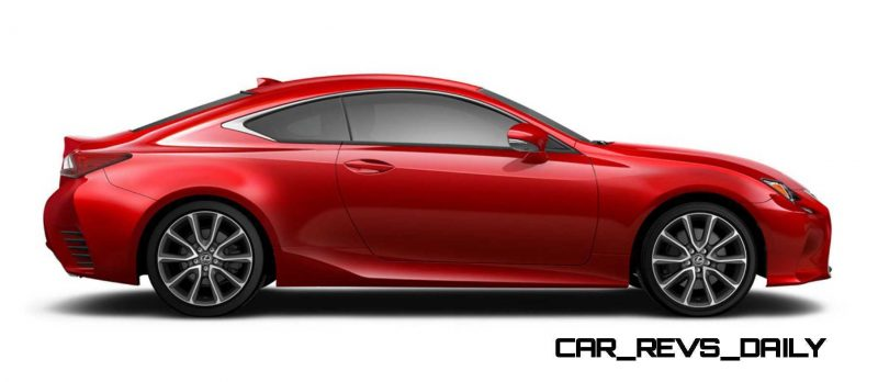 2015 Lexus RC350 Colors Visualizer + F Sport vs Standard 62