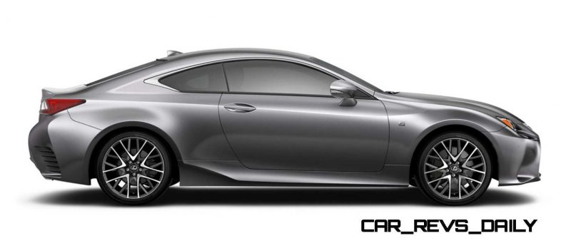 2015 Lexus RC350 Colors Visualizer + F Sport vs Standard 64