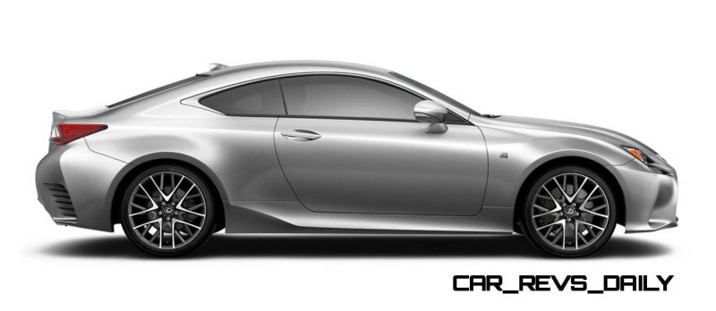 2015 Lexus RC350 Colors Visualizer + F Sport vs Standard 65