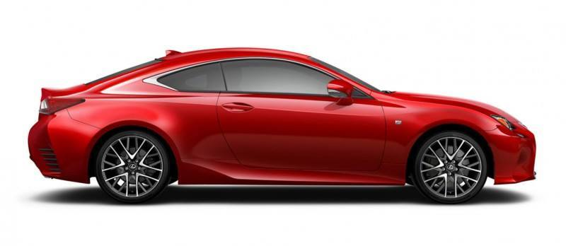 2015 Lexus RC350 Colors Visualizer + F Sport vs Standard 68