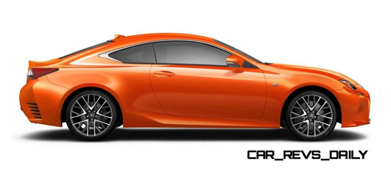 2015 Lexus RC350 Colors Visualizer + F Sport vs Standard 69