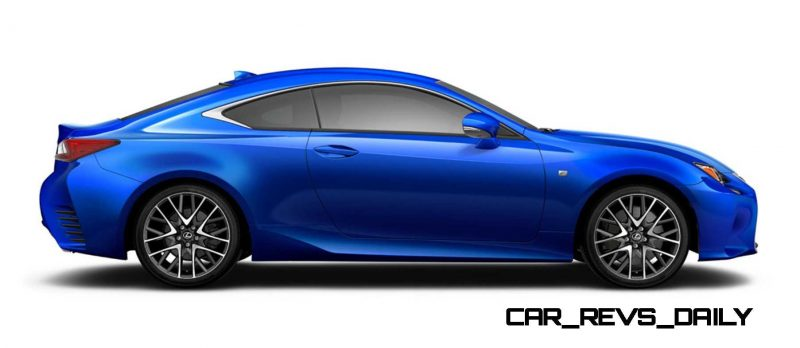 2015 Lexus RC350 Colors Visualizer + F Sport vs Standard 70
