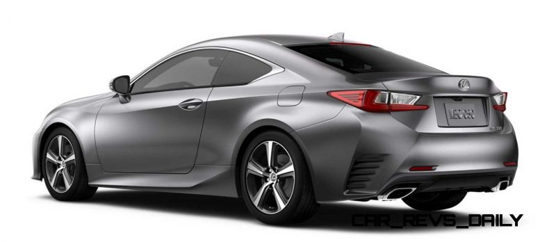 2015 Lexus RC350 Colors Visualizer + F Sport vs Standard 72