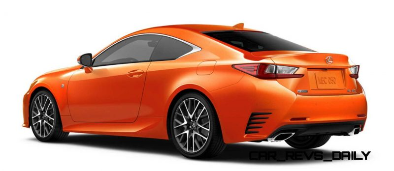 2015 Lexus RC350 Colors Visualizer + F Sport vs Standard 73