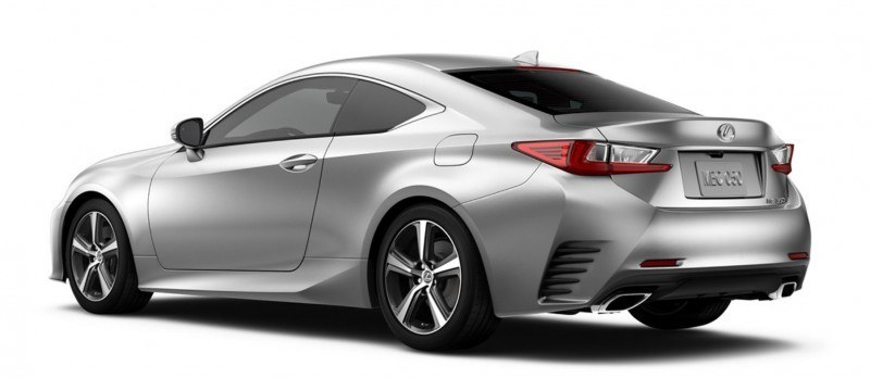 2015 Lexus RC350 Colors Visualizer + F Sport vs Standard 75