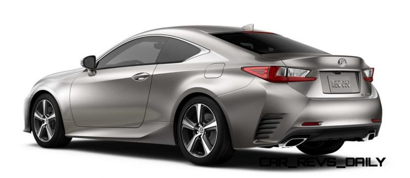 2015 Lexus RC350 Colors Visualizer + F Sport vs Standard 76