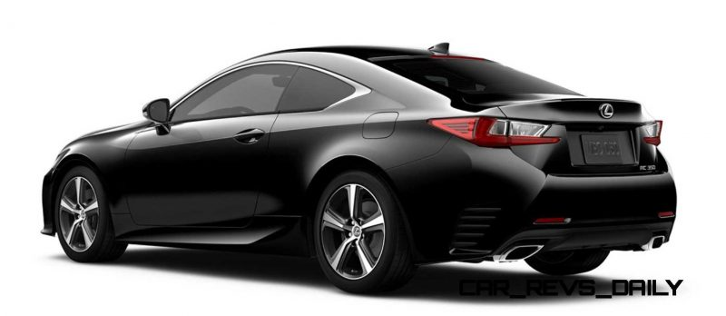 2015 Lexus RC350 Colors Visualizer + F Sport vs Standard 77