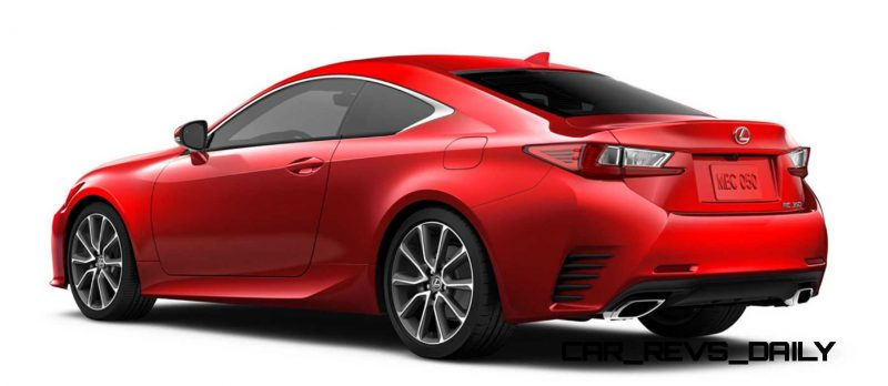 2015 Lexus RC350 Colors Visualizer + F Sport vs Standard 79