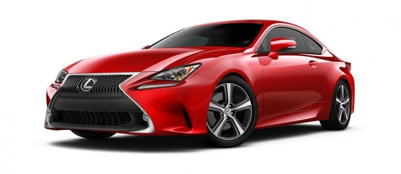 2015 Lexus RC350 Colors Visualizer + F Sport vs Standard 8