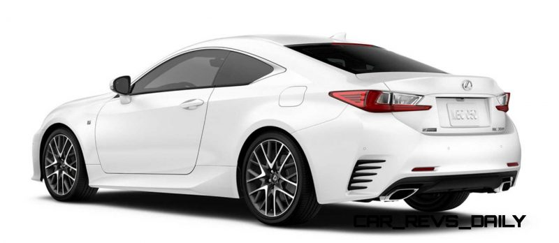 2015 Lexus RC350 Colors Visualizer + F Sport vs Standard 80