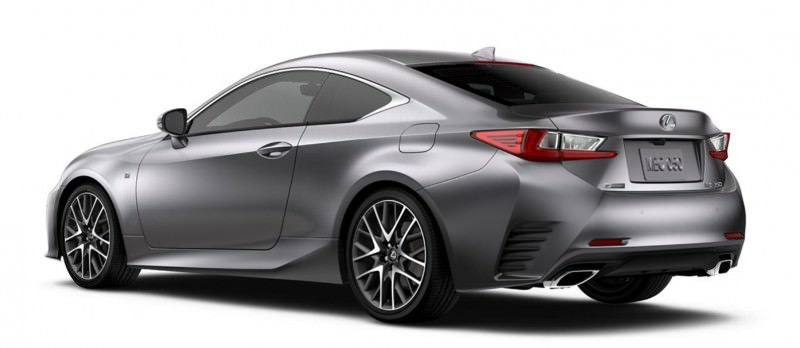 2015 Lexus RC350 Colors Visualizer + F Sport vs Standard 81