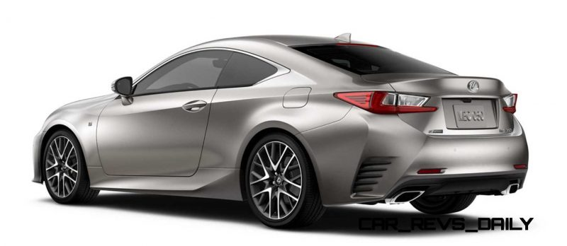 2015 Lexus RC350 Colors Visualizer + F Sport vs Standard 83