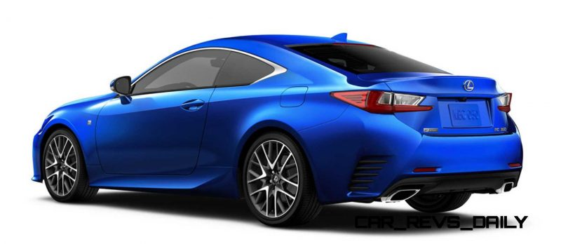 2015 Lexus RC350 Colors Visualizer + F Sport vs Standard 87