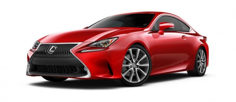 2015 Lexus RC350 Colors Visualizer + F Sport vs Standard 9