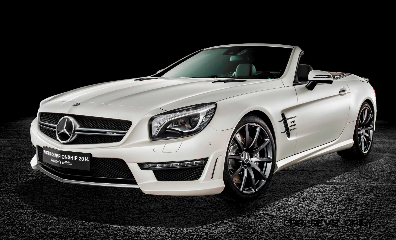 2015 mercedes benz sl63 amg world championship edition for Mercedes benz 2015
