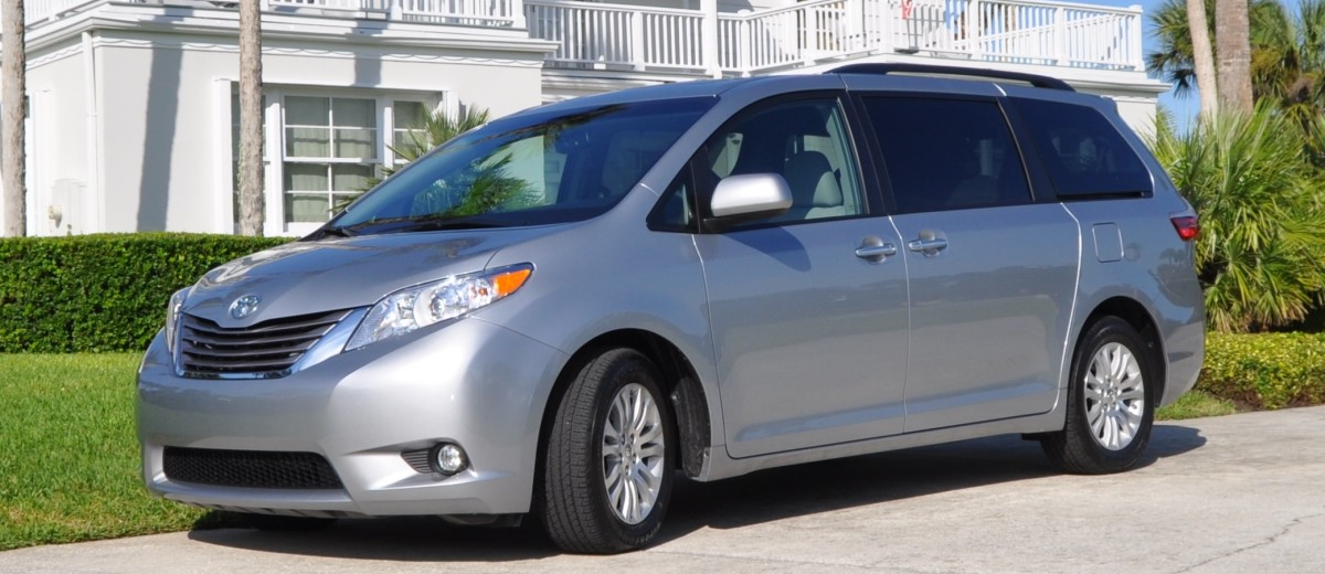 2015 toyota sienna xle 19. Black Bedroom Furniture Sets. Home Design Ideas