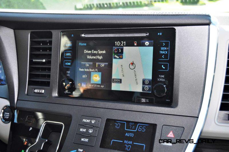 2015 Toyota Sienna XLE 36
