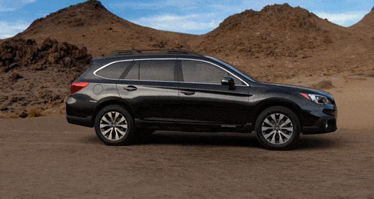 2015 Subaru Outback Crystal Black Silica