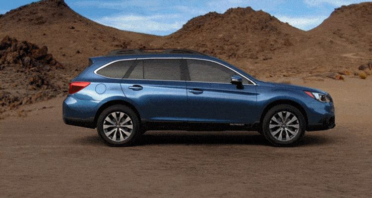 2015 Subaru Outback Twilight Blue Metallic