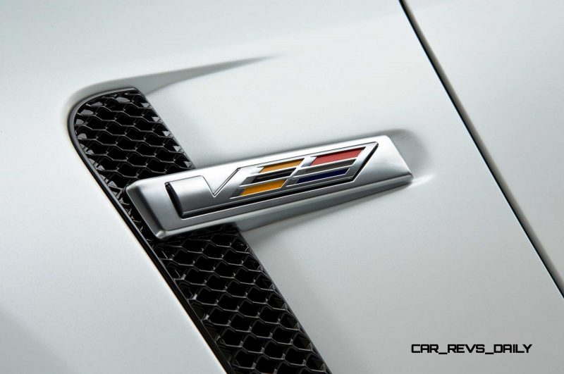 2016 Cadillac CTS-V Crystal White Tricoat 1