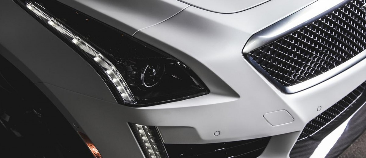 2016 Cadillac CTS-V Crystal White Tricoat 13