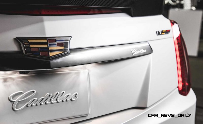 2016 Cadillac CTS-V Crystal White Tricoat 18