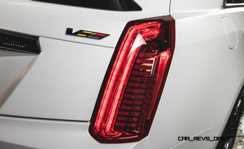 2016 Cadillac CTS-V Crystal White Tricoat 20