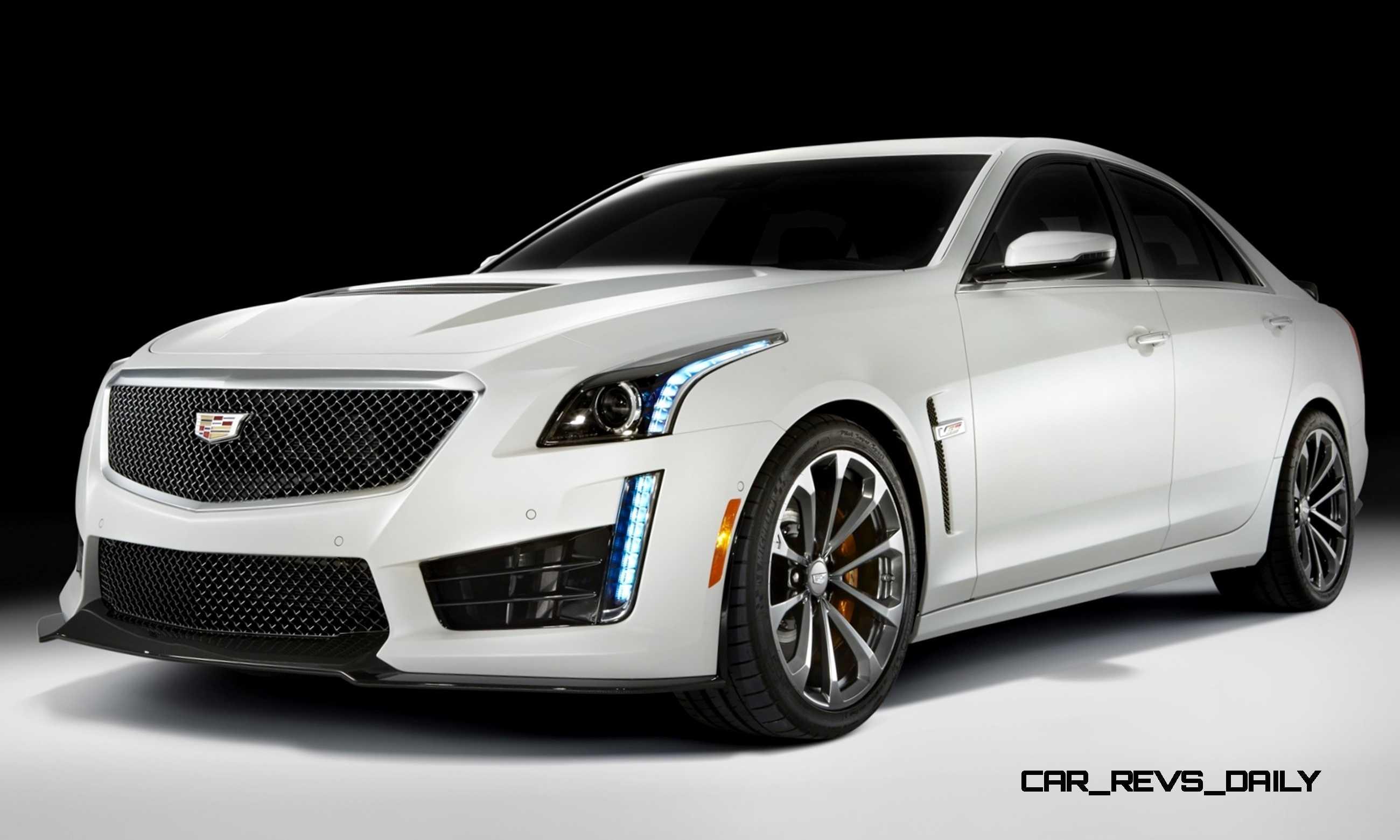 2016 Cadillac CTS V Crystal White Tricoat 5 ?