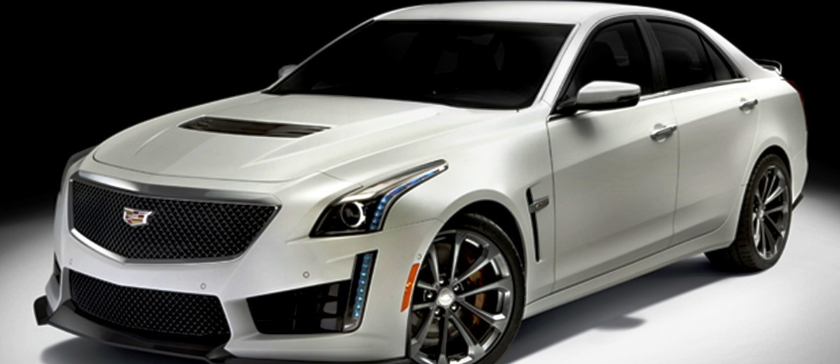 2016 Cadillac CTS-V Crystal White Tricoat 8