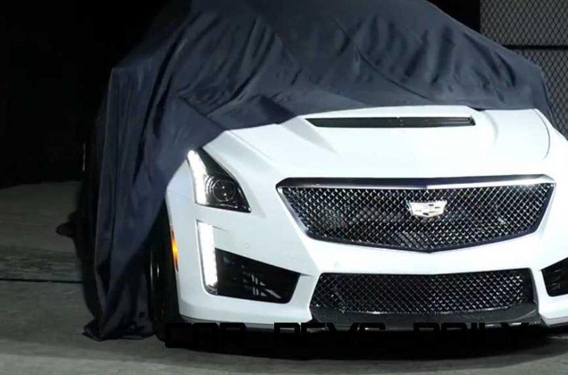 2016 Cadillac CTS Vseries Video Stills 1