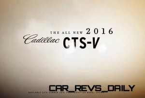 2016 Cadillac CTS Vseries Video Stills 72